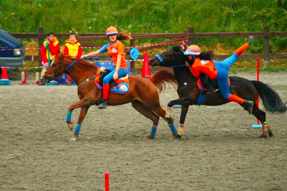 pony games: giulia lecce e sole gastini